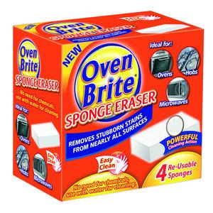Oven Brite Sponge Eraser 4pk