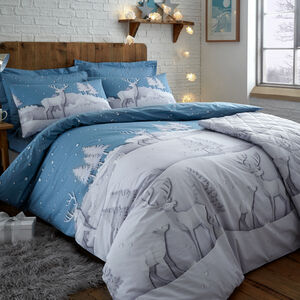 SINGLE DUVET COVER Origami Stag