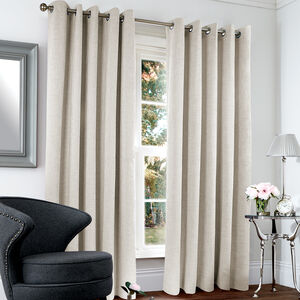 Blackout Thermal Basketweave Curtains