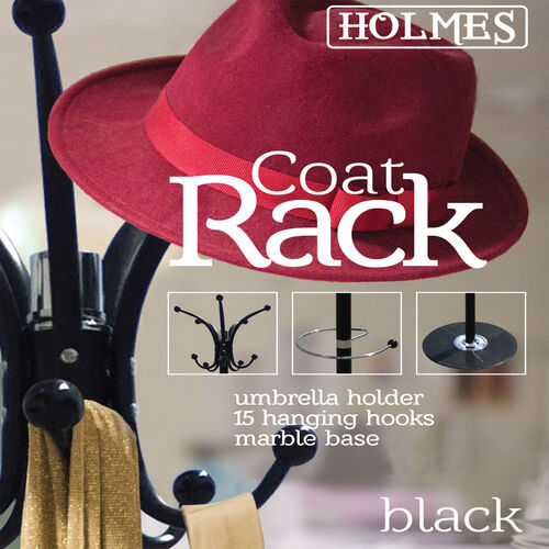 Holmes Coat Rack - Black