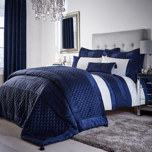 SINGLE DUVET COVER Classic Velvet Navy