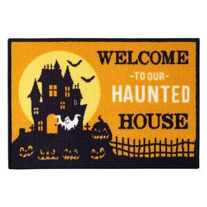 Haunted House Doormat 40x60cm