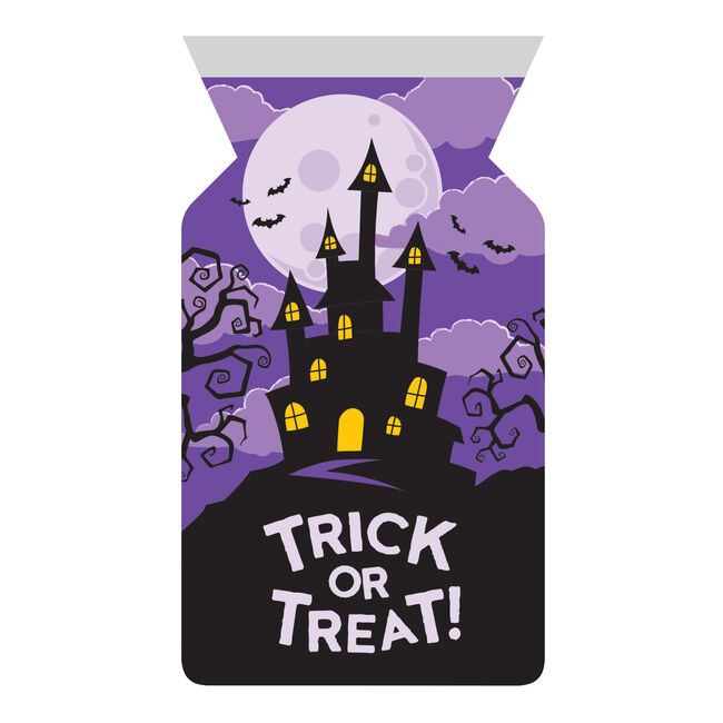12 Pack Haunted House Cello Bags