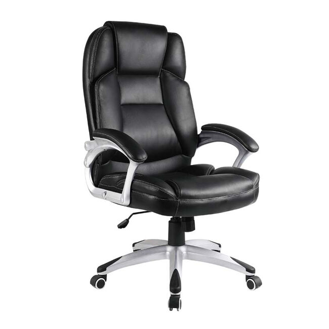 Black Deluxe Office Chair