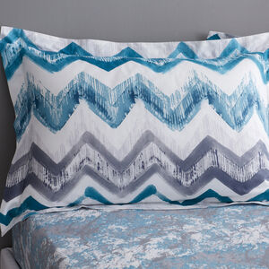 Hannah Oxford Pillowcase Pair - Teal