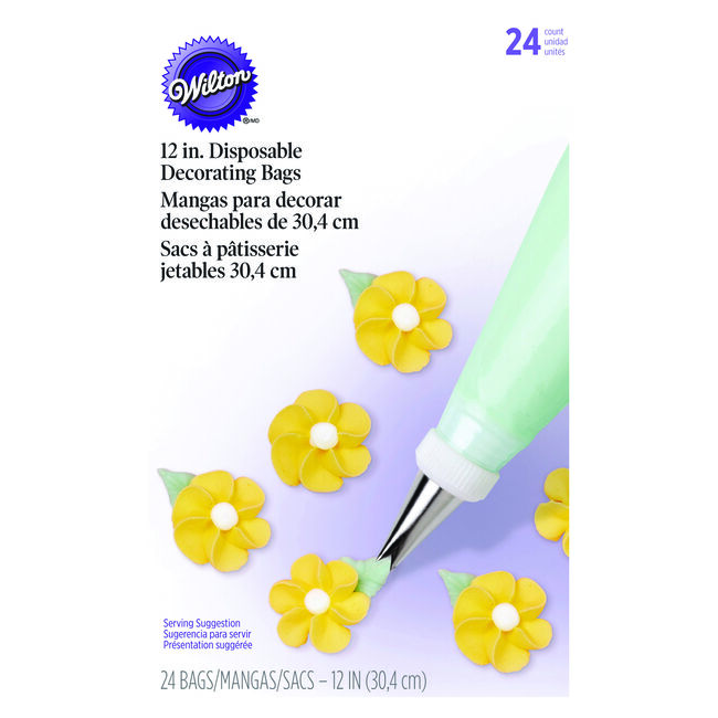 Wilton Disposable Decorating Bags 24Pc