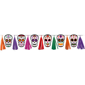 Day Of The Dead Tassel Garland
