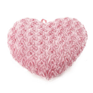 Heart Cushion Pink