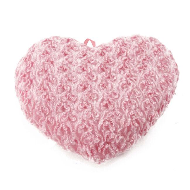Heart Cushion Pink