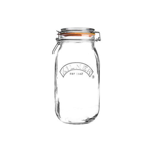 Kilner Round Clip Top Jar 1L