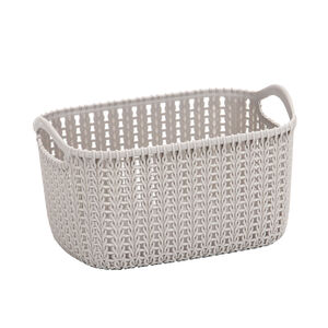 Knit Charcoal 4L Storage Organiser
