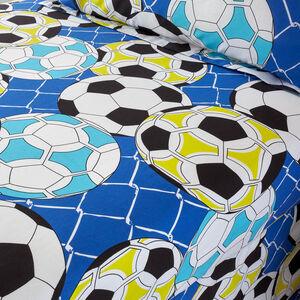 FOOTBALL GRAFFITI Single Fitted Sheet
