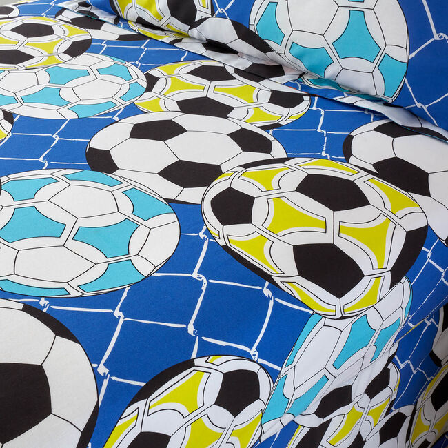 FOOTBALL GRAFFITI Single Fitted Sheet