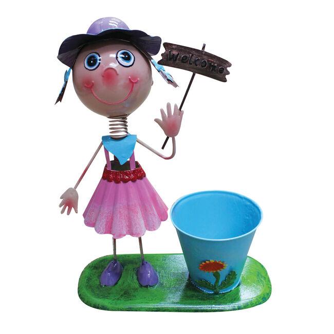 Novelty Dancing Girl Planter