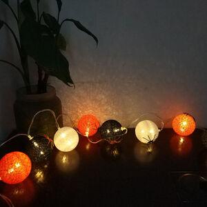 Halloween 8 LED Ball String Lights