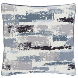 Painterly Cushion 45x45cm - Blue