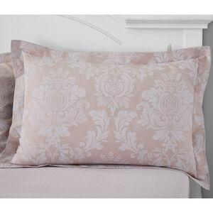 Elvira Oxford Pillowcase Pair - Mauve