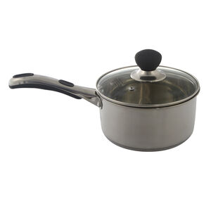 Easy Grip 18cm Saucepan with Lid