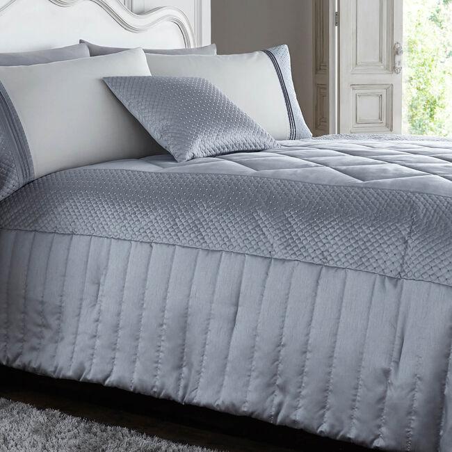 Harbron Bedspread Silver 220cm x 230cm