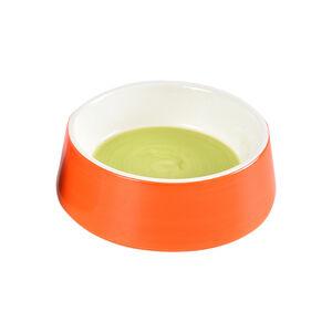 Large Ceramic Pet Bowl - Orange
