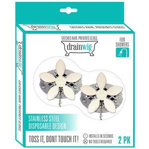 Drainwig Shower Hair Catcher 2 Pack