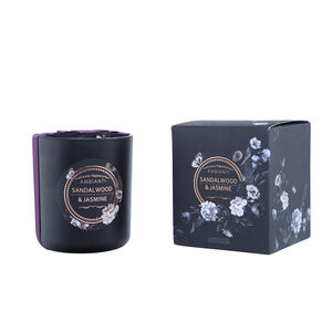 Ambianti Sandalwood and Jasmine Scented Candle
