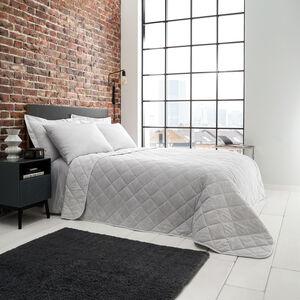 Quest Bedspread 200x200cm - Grey