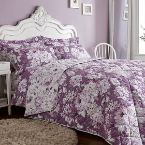 Bea Plum Bedspread 200cm x 220cm