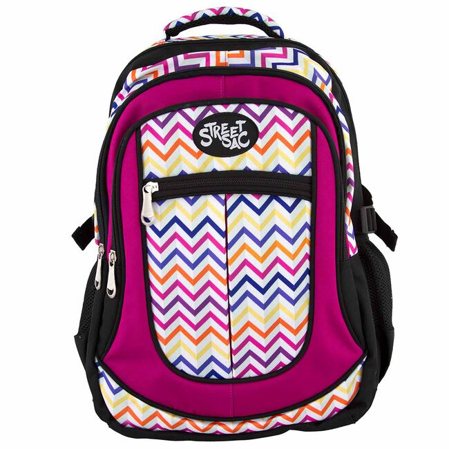 Streetsac Zigzag Multi Schoolbag
