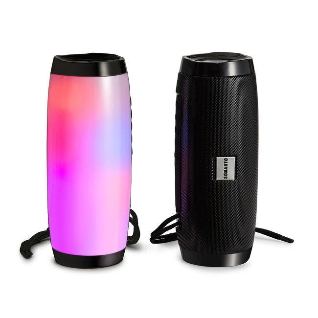 Sonarto 10W Lightup Bluetooth Barrel Speaker