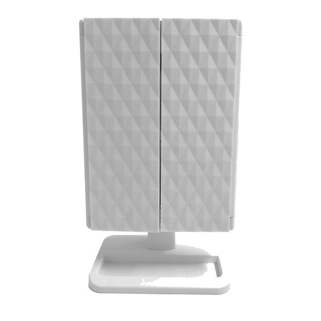 LED Smart touch Trifold Lighting Mirror