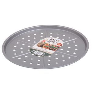 Baker & Salt Silver Pizza Tray 31cm