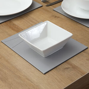 "ABNEY & CROFT WHITE 6"" Square Bowl"