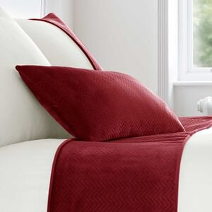 Ribeiro Velvet Cushion Red 30 x 50cm
