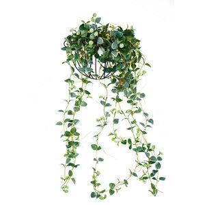 Light Up Green Leaf Ball Decoration