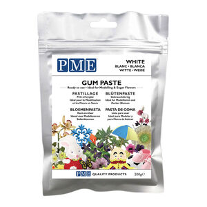 PME White Gum Paste 200g