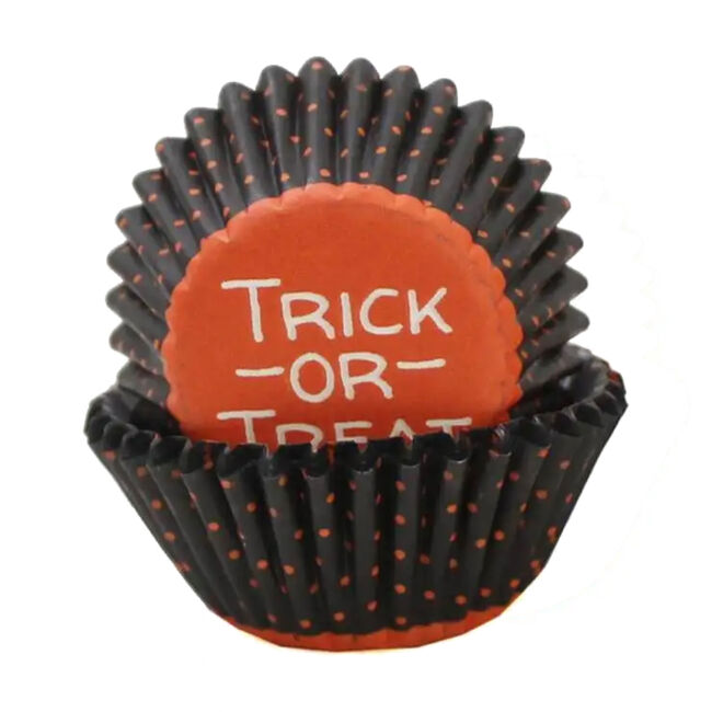 Wilton Halloween Trick-or-Treat Mini Cupcake Cases