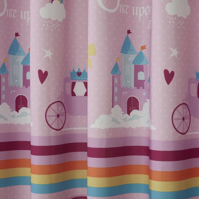 PRINCESS DREAMLAND PINK 66x54 Curtain