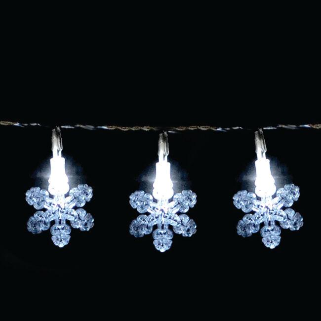 3D Snowflake Lights 40Pk