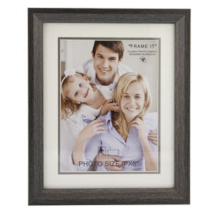 Aged Dark Photo Frame 6x8""