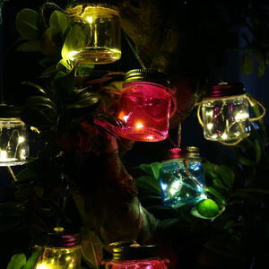 8 Solar Jars String Light
