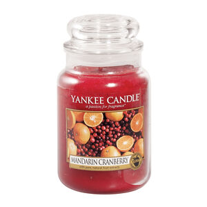 Yankee Candles Mandarin Cranberry Large Jar