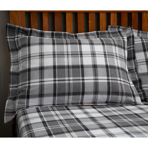 Brushed Cotton Patchwork Stag Oxford Pillowcases