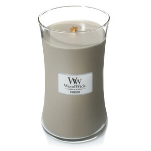 Woodwick Fireside Candle