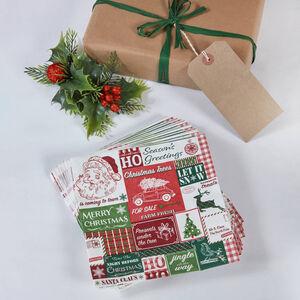 Retro Santa Napkins 20 Pack