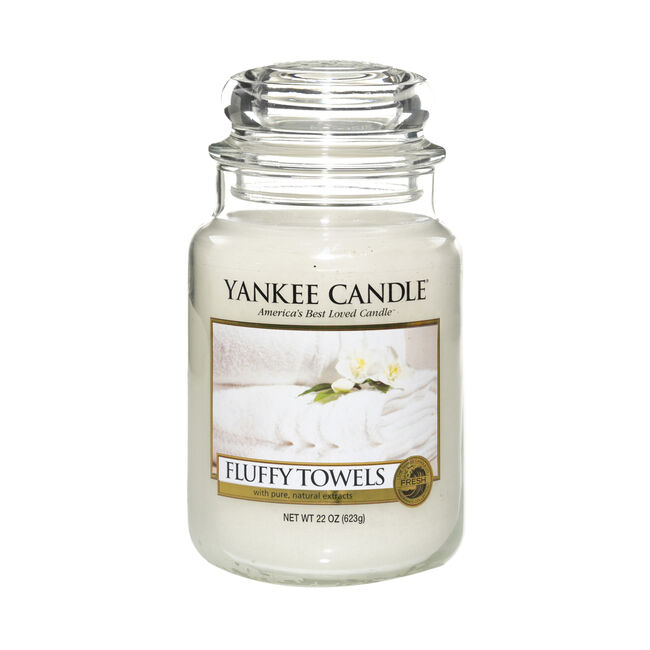 Yankee Candle Fluffy Towels Large Jar
