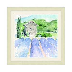 Lavender Filled Framed Canvas 38x38cm