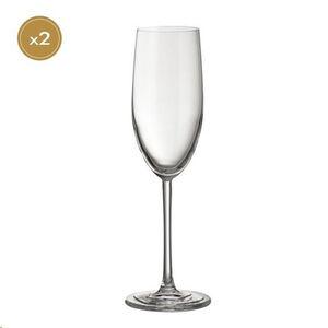 Jamie Oliver Waves 2 Champagne Glasses