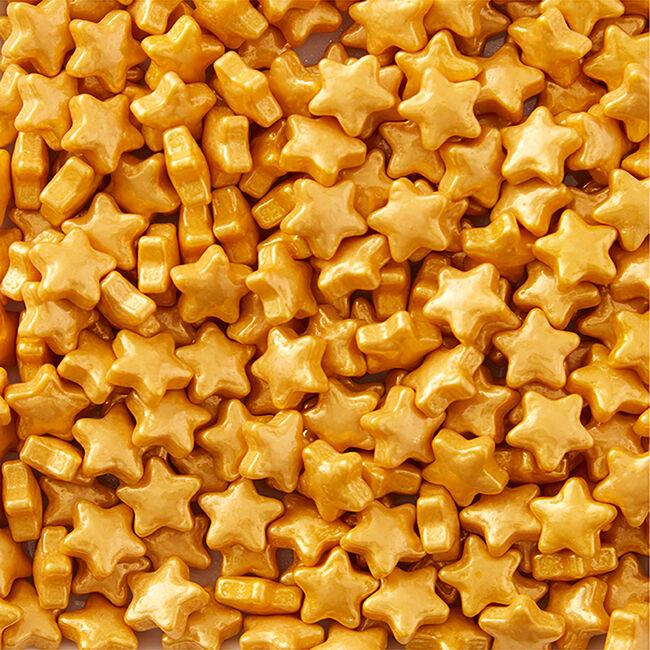 Wilton Sprinkle Stars - Gold