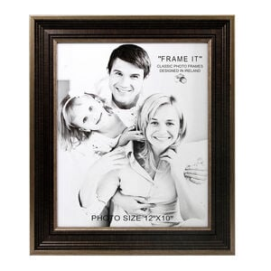Antique Bronze Slim Photo Frame